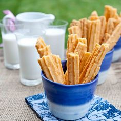 Trisha Yearwood's cheese straws Yeah, I'm so happy to find this recipe - I love these things.