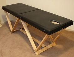 Make this portable folding table using only basic woodworking tools - for physical exam, massage, PT