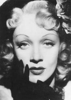 Marlene Dietrich, 1948 A true pioneer of modern eyebrows.  Marlene was one of the first women to shape her eyebrows.  Completely scandalous at the time.