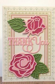 Anna Griffin Thank You card.