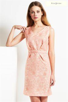Uttam Boutique Jacquard Shift Dress