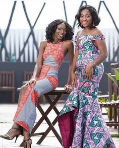 African Print made in Ghana African Print Dresses, African Dresses For Women, African Attire, African Wear, African Women, African Prints, African Clothes, African Fabric, African Men Fashion