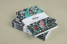 City Guides Books Illustration's Covers