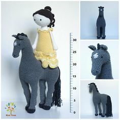 Crochet horse READY TO SHIP Horse doll Crochet toy Horse