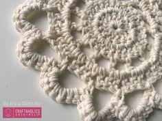 Craftaholics Anonymous® | Crochet Doily Trivets || Free Pattern