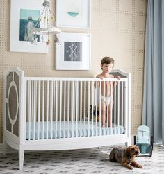 Give your baby boy or girl the nursery of their dreams — just like Nick and Vanessa Lachey did! Their son Camden's room is classy and neutral. Get the look for less with these nursery decor tips.