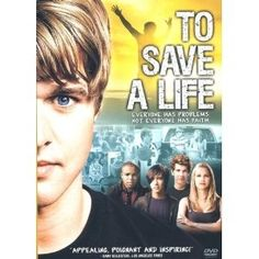 To Save A Life is about teen suicide... and also premarital sex, abortion, underage drinking, cutting, bullying, divorce, divorces impact on children, adultery, drug use, gossip, and Christian hypocrisy. Consequently there  are PG-13 elements. But its a must see because it is also about being willing to stick out instead of fit in, being willing to reach out, to walk our talk, to take responsibility for our sins, to be willing to forgive, and to take God and what He says in his Word s