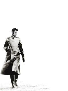 Ritratto con cappotto