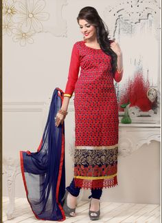 Tedious Salwar Suit For Ethnic Collection (142D) Please visit below link http://www.satrani.com/search&filter_name=142d  For more queries,  email id: inquiry@satrani.com Contact no.: 09737746888(whats app available)