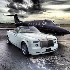 Private Jet n Rolls Royce / Nice Power package !!!!