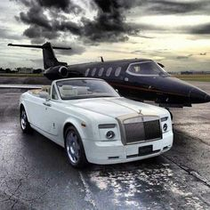 Rolls Royce and Jet