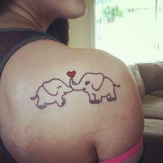 Mother daughter tattoo for my twentieth birthday :)