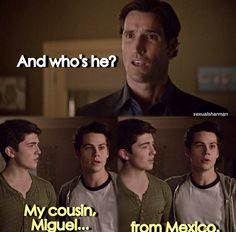 "S4 Ep2 ""117"" - Derek, Stiles and Scott dad"