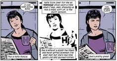 Kate Bishop. Just…Kate Bishop. | Community Post: 24 Reasons Why You Should Be Reading Matt Fraction's Hawkeye