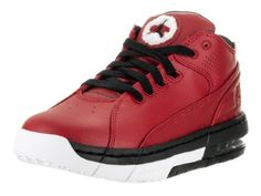 897b158d93 Nike Jordan Kids Jordan Ol School Low Bg Gym Red Black White Basketball Shoe  5 Kids US