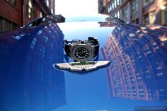 Experience: Aston Martin V8 Vantage. Along with a Perfect Matching Audemars Piguet Royal Oak Offshore Scuba Blue Boutique Edition. http://www.watchcollectinglifestyle.com/home/experience-aston-martin-v8-vantage-along-with-a-perfect-matching-audemars-piguet-royal-oak-offshore-scuba-blue-boutique-edition