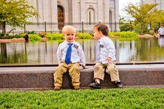Future LDS Missionaries Photoshoot at Salt Lake City Temple: www.hubbardscupboard2010.com