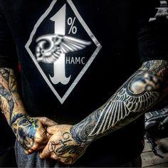 "1,196 Likes, 9 Comments - HELLS ANGELS MC ANTALYA PROV. (@dogus_hamc) on Instagram: ""@kubilayorak #tattoo #hellsangelsmcturkey #hamcantalyaprovince #hamc #1% #affa #1661"""