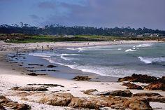 Asilomar State Beach, Pacific Grove, CA