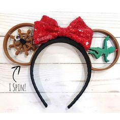 Spinning 3D Printed Peter Pan Inspired Ears