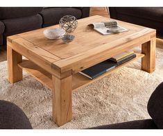 Konferenční stolek z masivu ALISA dub divoký