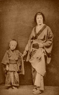 """An """"Onnagata"""", a male actor of the Kabuki who was specialized in playing women's roles."""