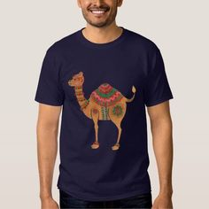 (The Ethnic Camel T-Shirt) #Tribal #Africa #Animal #Arabian #Arabic #Camel #Camelidae #Desert #EidAlAdha #EidAlFitr #Ethnic #Fashion #Holiday #Illustration #IslamHoliday #MiddleEast #Pattern #SeamlessPattern #Watercolor is available on Funny T-shirts Clothing Store http://ift.tt/2fH9Nrk