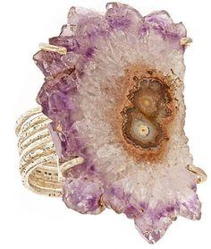 ShopStyle: Anuja Tolia Purple Agate Ring