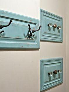 drawer front as a coat hanger