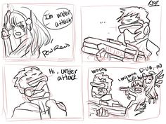 Overwatch has developed quite a fan art following.... - Page 32 ...