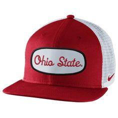 538af05eca3 Nike Ohio State Buckeyes True Fan Adjustable Trucker Hat - Scarlet