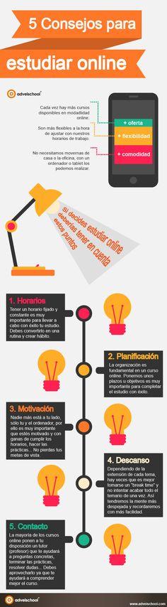5 consejos para estudiar online:
