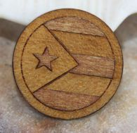 Made for our Puerto Rico Lovers! A  Circle designed especially for our Circle of Love pendant collection. $17.95 for the wooden Circle insert. Interchangeable jewelry designed to define your lifestyle. You don't have to wear the same thing everyday.