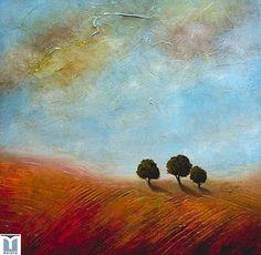 Serenity, original oils on canvas by Jesus F. Moreno