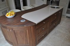by Keith FennellyCarlow, IE 5a ·  42 photosadded by woodaledesigns		Painted Kitchen with Walnut island.  					http://www.woodaledesigns.ie