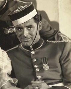 """Cary Grant in """"Gunga Din"""", (1939)."""