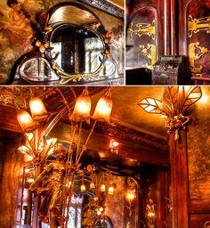 art nouveau interior | Here is a truly beautiful interior: Chez Maxim's in Paris -