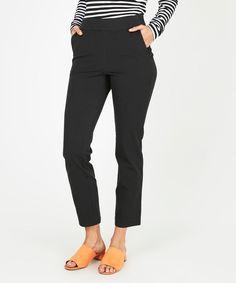 Metalicus Straight Leg Cropped Pant Black | Pants | Clothing | Shop | Metalicus