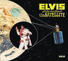 Elvis Presley Aloha From Hawaii Via Satellite 1972 Vinyl LP Record Album Musica Elvis Presley, Elvis Presley Records, Elvis Presley Albums, Elvis Aloha From Hawaii, Lps, Suspicious Minds, Memphis Tennessee, 40th Anniversary, Graceland