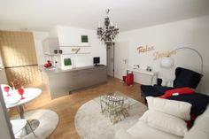 Homestaging Wohnzimmer nachher - gefunden und gepinnt vom Immobilien Büro in Hannover Makler arthax-immobilien.de