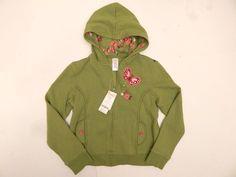 NEW Girls Gymboree Lime Green Pink Hooded Sweatshirt Hoodie Size 10-12 $34.95 #Gymboree #Everyday