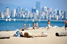 The Beach Vancouver Beautiful British Columbia Canada Travel, Canada Trip, West Coast Canada, Vancouver Island, Pacific Ocean, British Columbia, New York Skyline, Spanish, Vacation