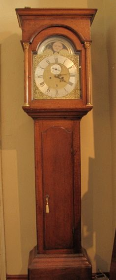 1770's Grandfather clock - my grandparents have one similar to this, but it's older.. I want it for my forever home