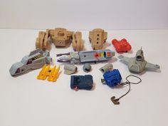 Vintage Kenner Centurions 1980s Action Figure Parts Accessory Lot Ace McCloud #Kenner