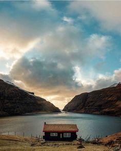 Saksun Faroe Islands   Photo by  @wisslaren by earth_deluxe