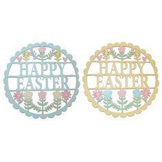 Gisela Graham | Happy Easter wooden sign, £7.50.
