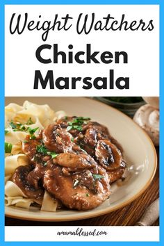 Searching for delicious Weight Watchers recipes with points? This Weight Watchers Freestyle chicken marsala recipe will make your belly happy. Perfect for lunch or dinner, this meal is easy to make without the guilt. Complete with Smartpoints value. #weightwatchers #weightwatchersfreestyle #smartpoints #healthyeating #lowcarbrecipes #lowcalorierecipes #chickenmarsala #easyrecipes