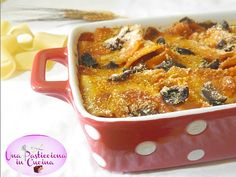 Pasta con Olive Nere e Mozzarella al Forno