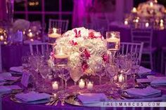 candle wedding centerpiece - Google Search