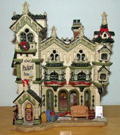 Lemax Christmas Caddington Village Lighted Building ~ Packard Inn MIB #35882